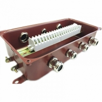 Коробка монтажная КМ 65-20 УХЛ1,5 IP65 латунный ввод ЗЭТА
