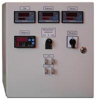 Блок управления нагревом с контролем напряжения и передачей тока