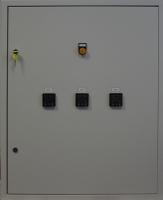 Щит управления нагревом с регулировкой мощности трехсекционной электрической печи