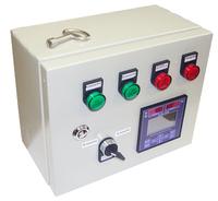 Блок регистрации и управления подачей пара в емкости