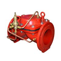 Мембранный перепускной клапан с пилотным управлением АСТА Р01/03