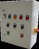 Блок управления фильтрами с двумя вентиляторами по 4кВт с программой для клапанов