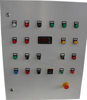 Шкаф управления печью с газовой горелкой с устройством плавного пуска