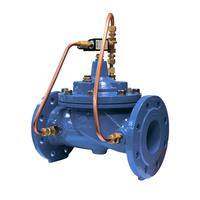 Мембранно-плунжерный соленоидный клапан с пилотным управлением АСТА Р02/04