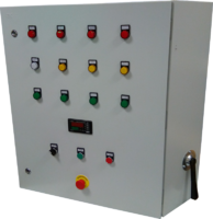 Шкаф сушки (шкафы управления линией окраски с конвейером)