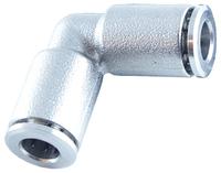 Угловой круглый фитинг металлический ТТУМ.НЛ-04